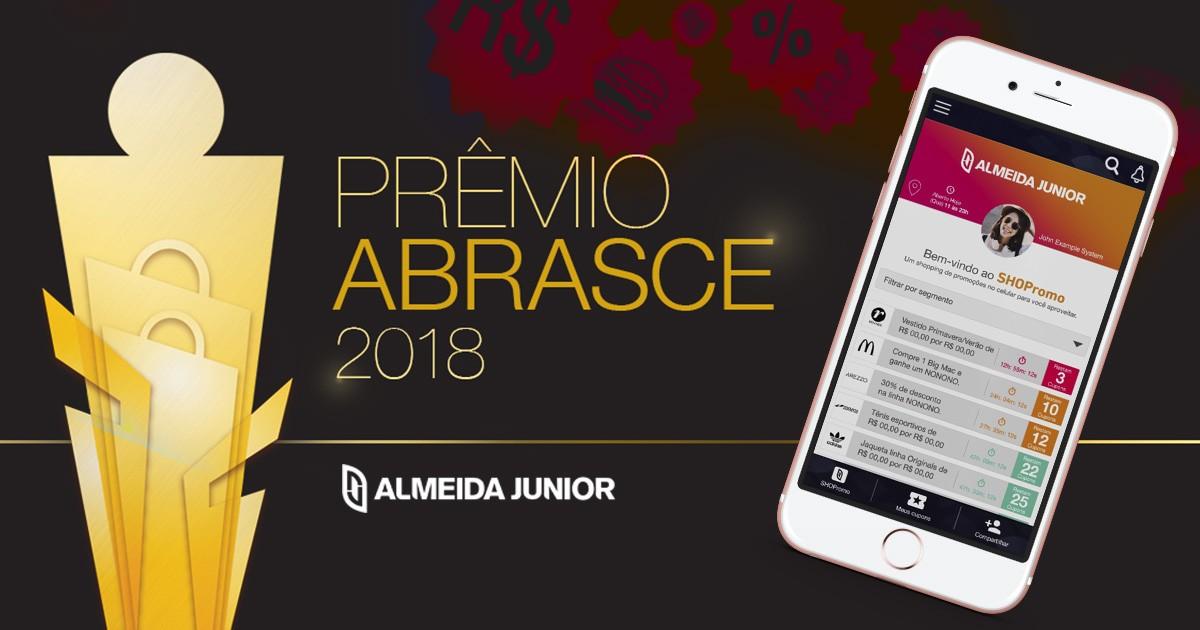 Almeida Junior é Premiada no Prêmio ABRASCE 2018 com Aplicativo Desenvolvido Pela AMcom