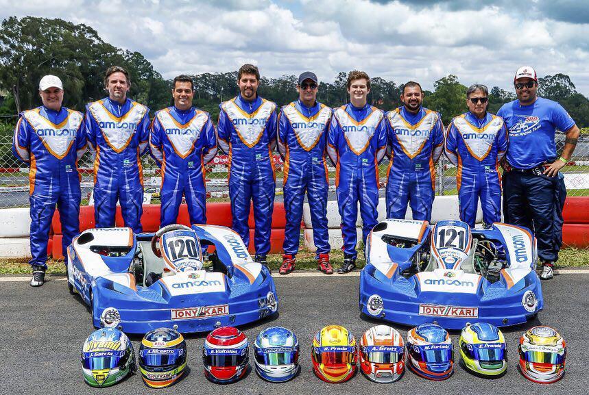 AMcom Racing Team vence as 500 milhas de kart