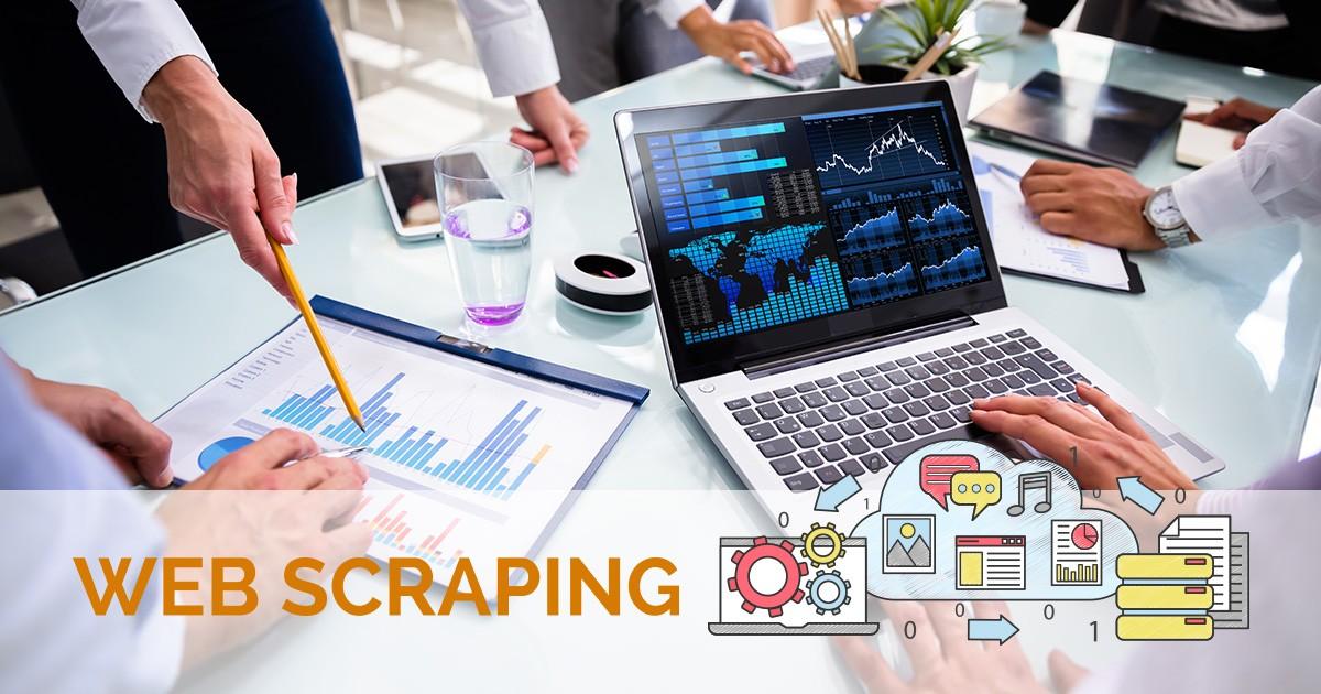Web scraping, o poder dos dados como diferencial para o seu negócio